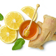 composition of ginger, lemon and honey - PhotoDune Item for Sale