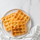 Savory keto two ingredients waffles - chaffles - PhotoDune Item for Sale
