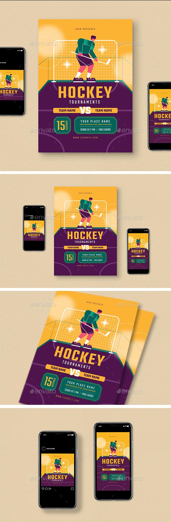 Hockey Flyer Pack