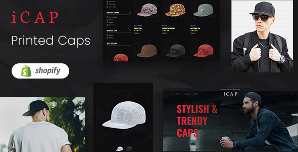 icap - Caps, Fashion Shopping Shopify Theme
