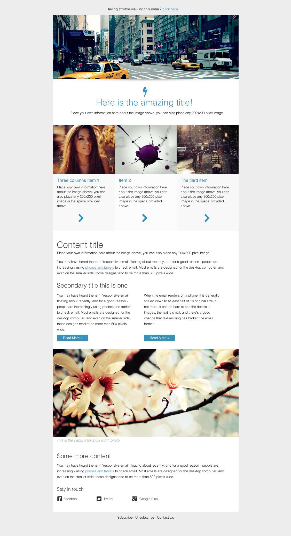 Ungewöhnlich Www.campaignmonitor.com Vorlagen Galerie - Beispiel ...