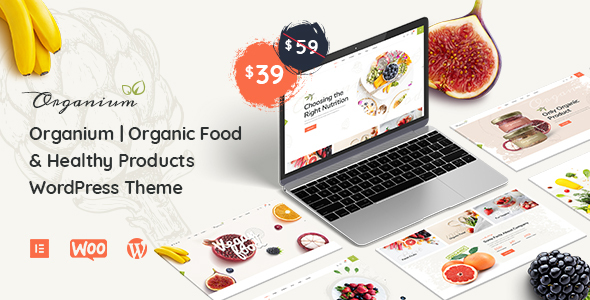Download Organium   Organic Food Products WordPress Theme Free Nulled