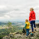 Mother with little boy travelling in mountains - PhotoDune Item for Sale