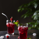 Fresh summer cold cocktail with raspberry - PhotoDune Item for Sale