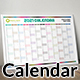 Calendar 2021 Planner Simple Style Vector