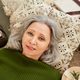 Mature woman resting on the floor - PhotoDune Item for Sale