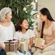 Family celebrating Christmas together - PhotoDune Item for Sale