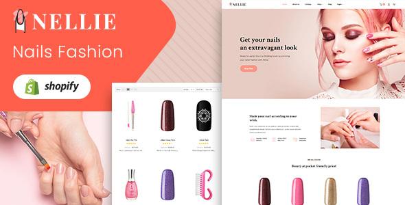 Nellie – Nail Polish Responsive Shopify Theme