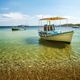 Colorful boat in Skiathos island - PhotoDune Item for Sale