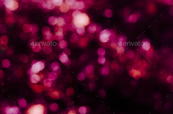 Pink lights blurred - Stock Photo - Images
