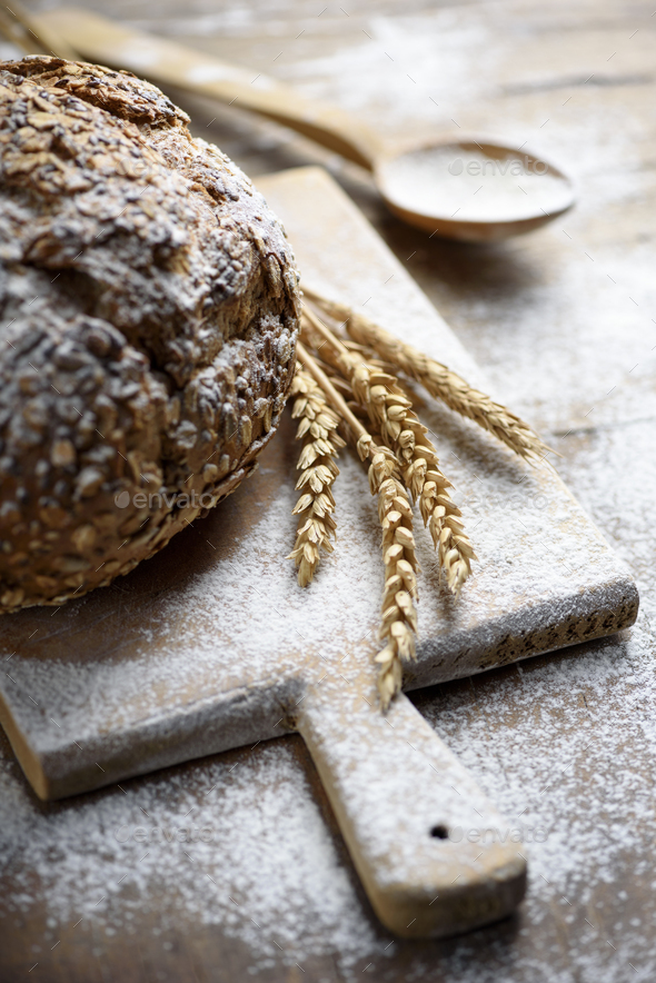 Homemade bread - Stock Photo - Images