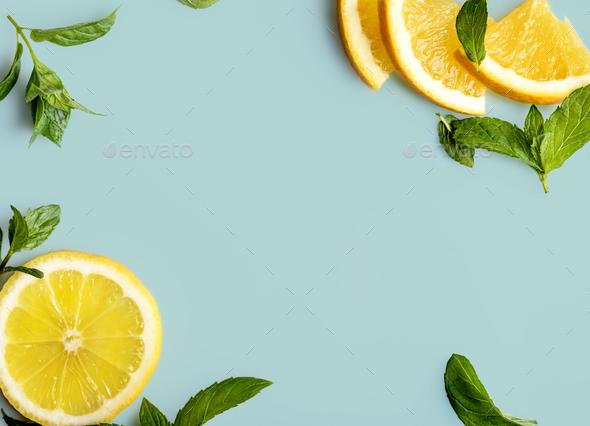 Citrus slices - Stock Photo - Images
