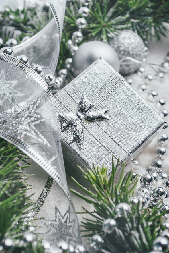 Christmas present - Stock Photo - Images