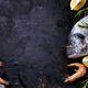 Seafood on black background - PhotoDune Item for Sale