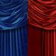 Beautiful velvet curtains in three versions