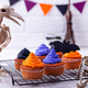 Halloween cupcakes with color cream - PhotoDune Item for Sale