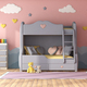 Colorful children room with bunk bed - PhotoDune Item for Sale