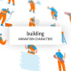 Building - Character Set - VideoHive Item for Sale