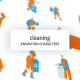 Cleaning - Character Set - VideoHive Item for Sale