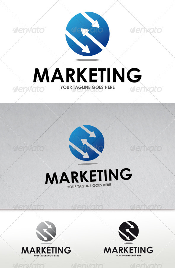 Marketing logo by bosstwinsmusic graphicriver marketing logo altavistaventures Choice Image