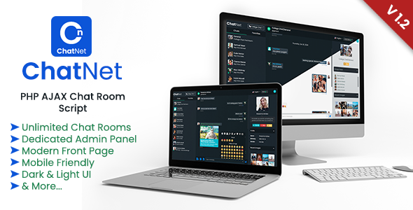 ChatNet - PHP Chat Room & Private Chat Script