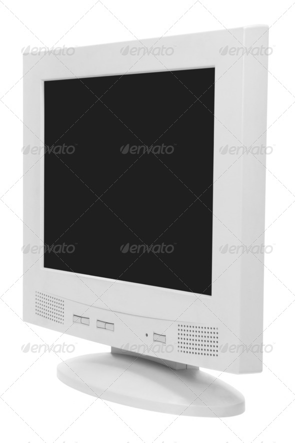 Computer Monitor - Stock Photo - Images