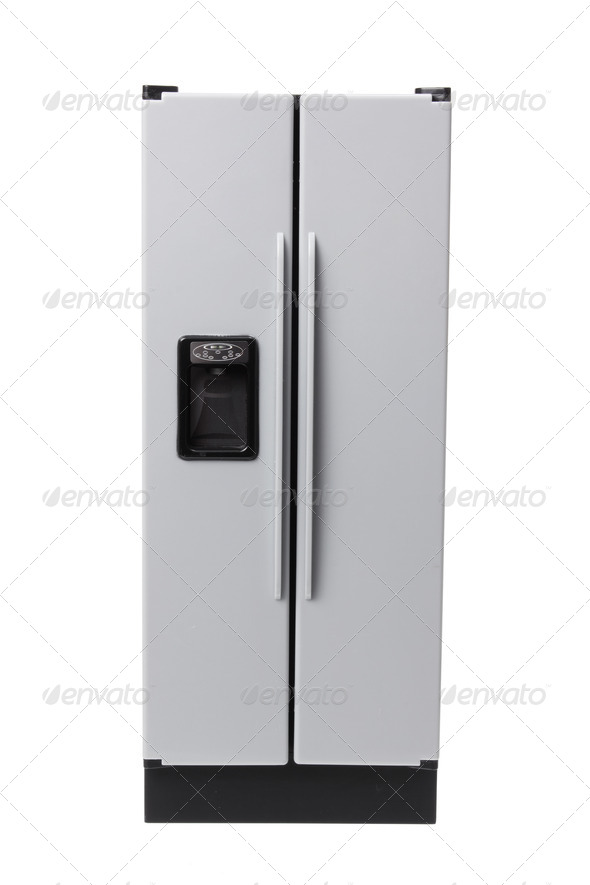 Miniature Refrigerator - Stock Photo - Images