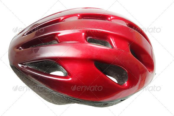 Bicycle Helmet - Stock Photo - Images