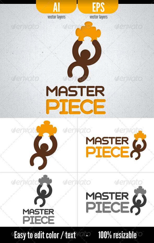 Master Piece - Logo Template - Symbols Logo Templates
