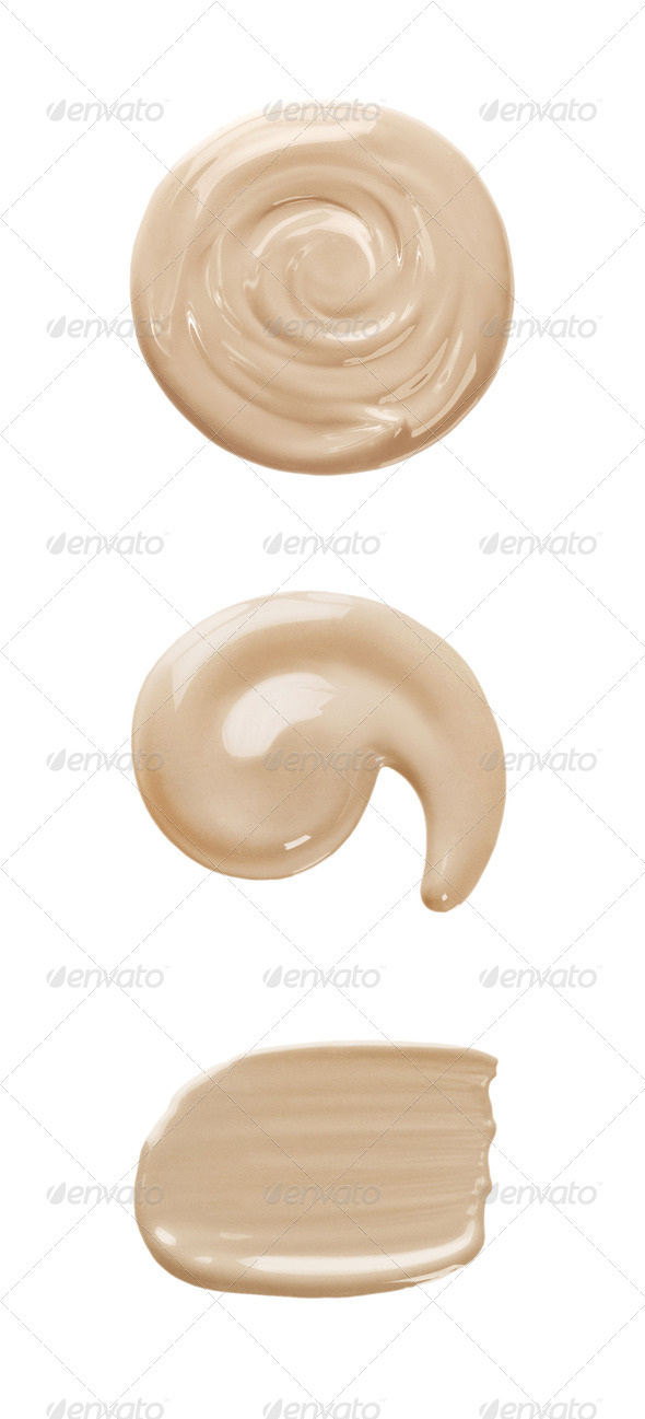 Foundation color sample - Stock Photo - Images