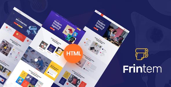 Frintem  - Printing Company HTML5 Template