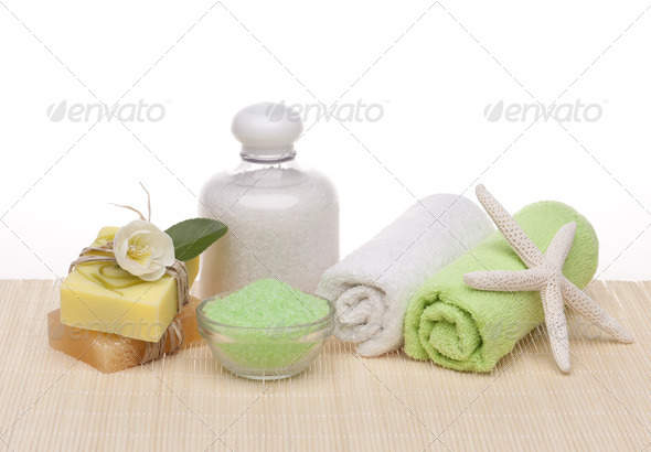 Spa cosmetic products - Stock Photo - Images