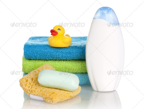 Bathroom products - Stock Photo - Images