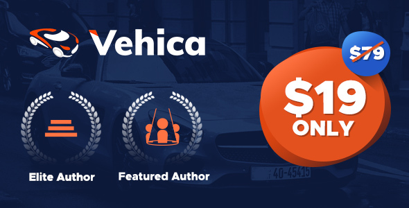 Vehica - Car Directory & Listing