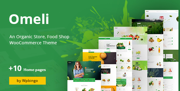 Omeli – Organic WooCommerce WordPress Theme