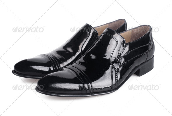 Black shoes - Stock Photo - Images