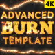 Advanced Burn Template - VideoHive Item for Sale