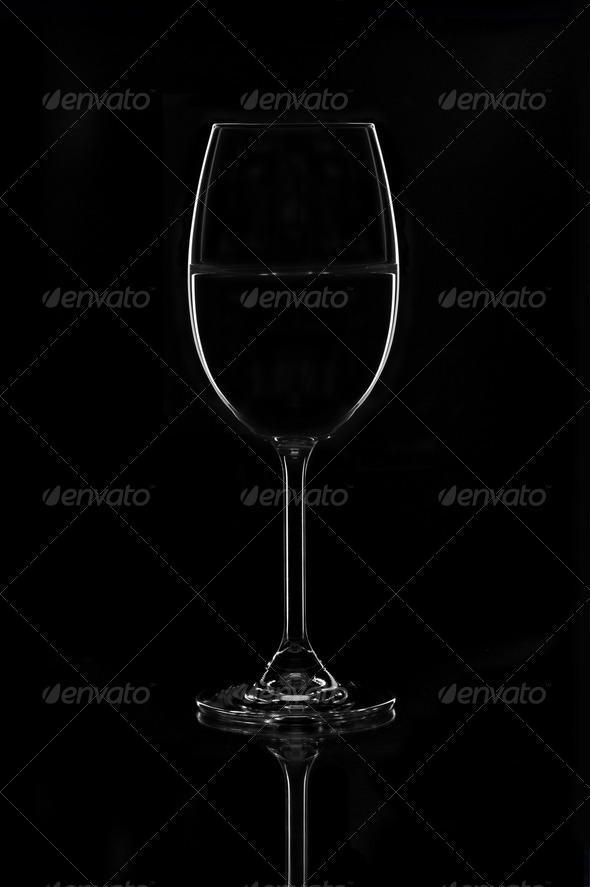 Wine glass - Stock Photo - Images