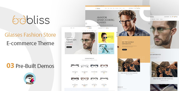 Oobliss Glasses Store – Responsive Prestashop Theme