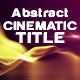 Abstract Particle - Form Cinematic Trailer-V-2 - VideoHive Item for Sale