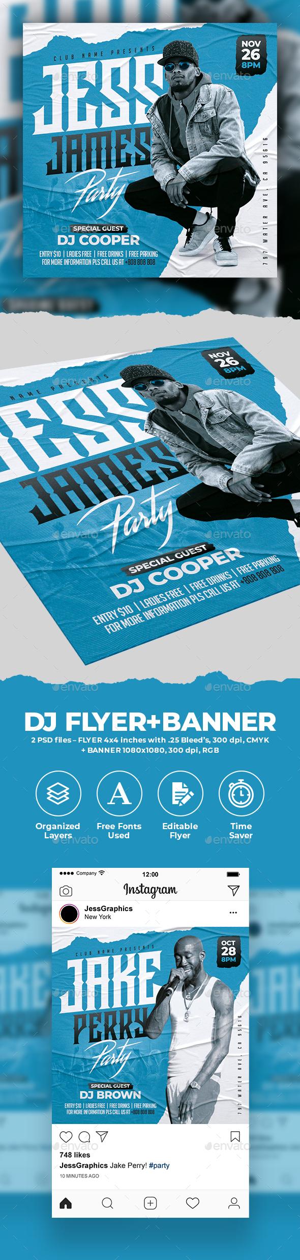 DJ Flyer & Banner