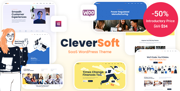 CleverSoft – SaaS WordPress Theme