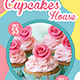 Cupcake Flyer Template Vol. 6