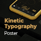 Kinetic Typography Poster - VideoHive Item for Sale