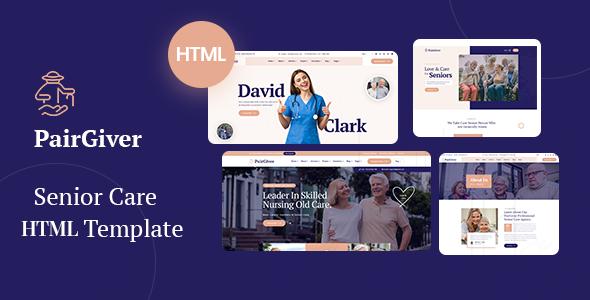 Fabulous PairGiver - Senior Care HTML5 Template