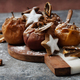 Backed apples with Chrismas Decorations - PhotoDune Item for Sale