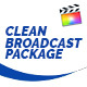 Clean Broadcast Pack - Final Cut Pro & Apple Motion - VideoHive Item for Sale