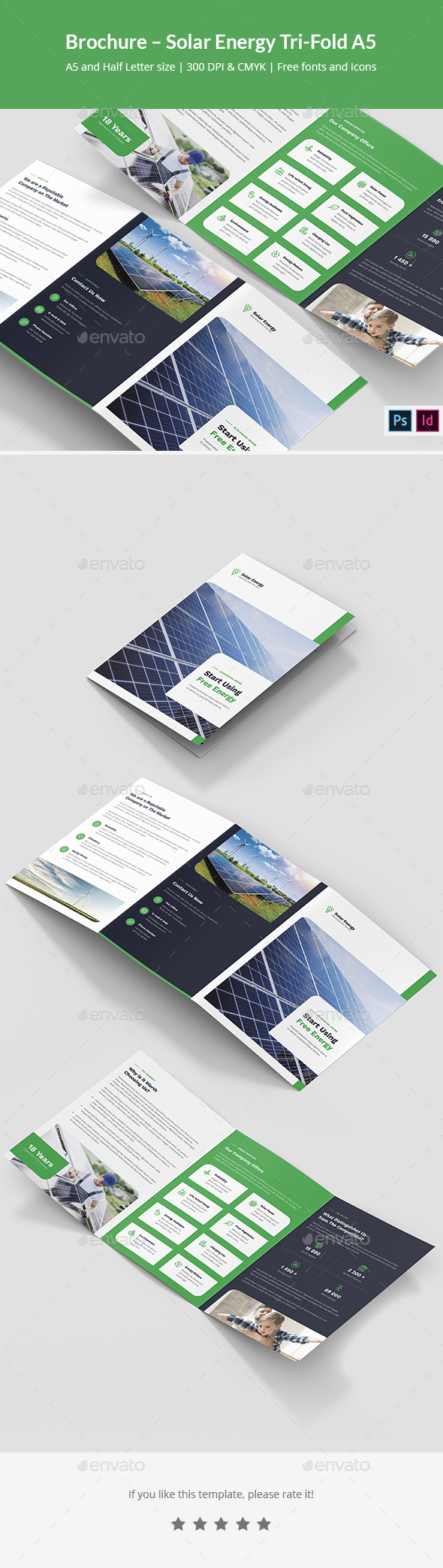 Brochure – Solar Energy Tri-Fold A5