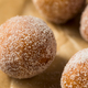Homemade Fried Cake Donut Holes with Sugar - PhotoDune Item for Sale