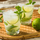 Boozy Refreshing Rum Mint Mojito Cocktail - PhotoDune Item for Sale